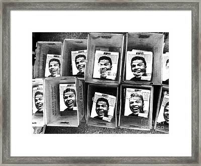 Boxers Boxes Framed Print