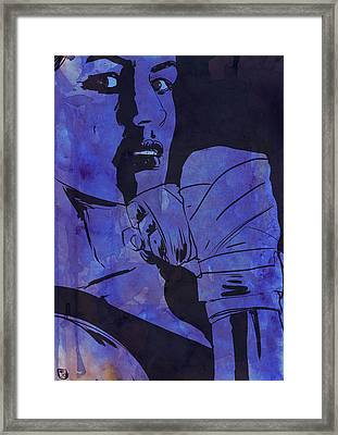 Boxing Club 7 Framed Print by Giuseppe Cristiano