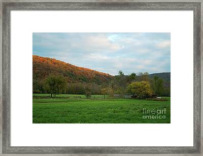 Boxley Valley Arkansas Framed Print