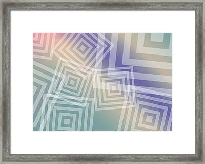 Boxs Framed Print by Cleotha Williams
