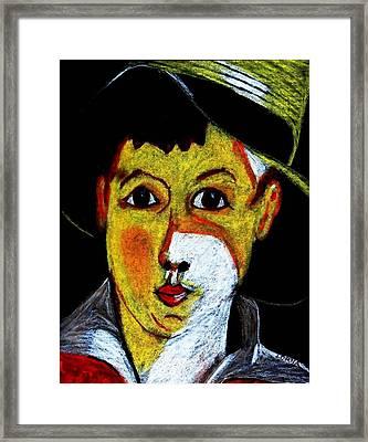 Boy Lost Framed Print
