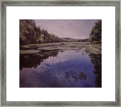 Boy Scout Reservation Framed Print by Richard Ong