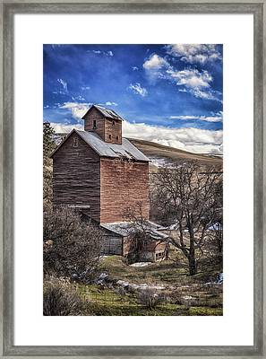 Framed Print featuring the photograph Boyd Flour Mill by Cat Connor
