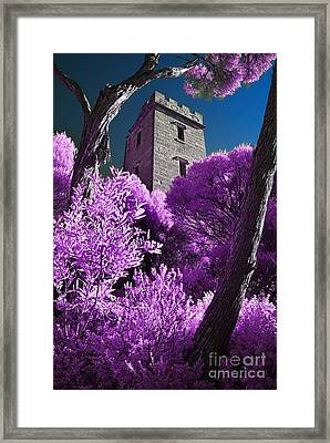 Boyd Tower 2 Framed Print by Russ Brown