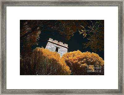 Boyd Tower Framed Print by Russ Brown