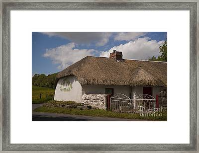Boyne Valley Cottage Framed Print by Philippe Boite