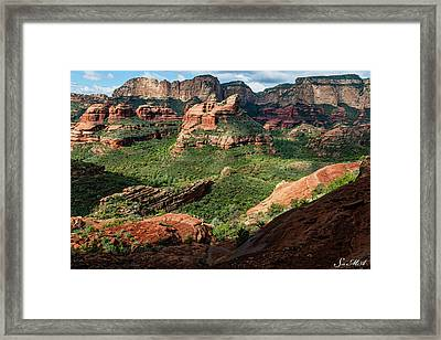 Boynton Canyon 05-942 Framed Print