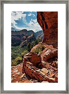 Boynton Canyon 08-160 Framed Print