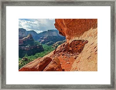 Boynton Canyon 08-174 Framed Print