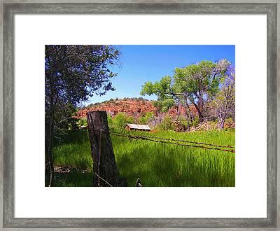 Boynton Canyon Arizona Framed Print by Jen White