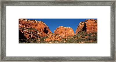 Boynton Canyon Red Rock Secret Framed Print by Panoramic Images