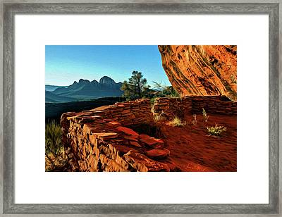 Boynton II 04-008 Framed Print by Scott McAllister