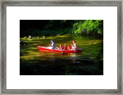 Boy's Day Out Framed Print by David Lee Thompson