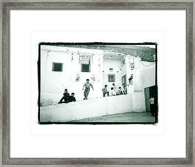 Boys School Framed Print by Lynn Friedman