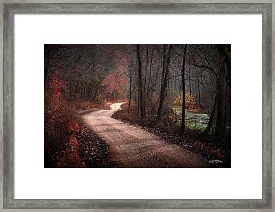 Boz Mill Road Framed Print by Bill Stephens