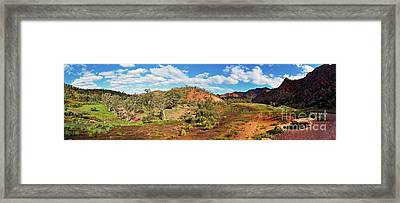 Bracchina Gorge Flinders Ranges South Australia Framed Print by Bill Robinson