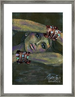 Bracelets  Framed Print