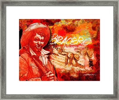 Bracero Framed Print by Dean Gleisberg