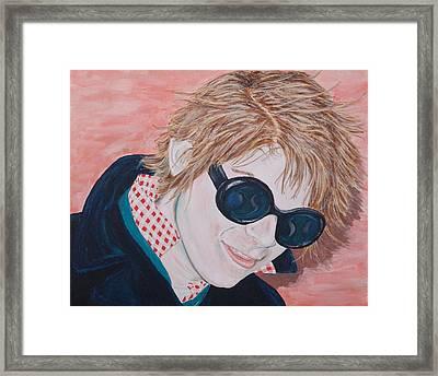 Brad Framed Print by Kevin Callahan