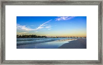 Bradenton Inlet Framed Print by Marvin Spates