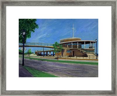 Bradford Beach House Framed Print