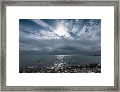 Bradford Beach Milwaukee Wi Framed Print