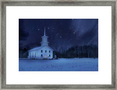Bradford County Starlight Framed Print by Lori Deiter