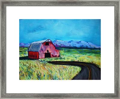 Bradley's Barn Framed Print