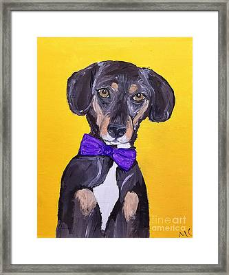 Brady Date With Paint Nov 20th Framed Print