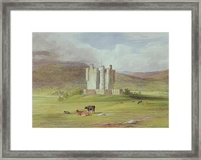 Braemar Castle Framed Print by James Giles
