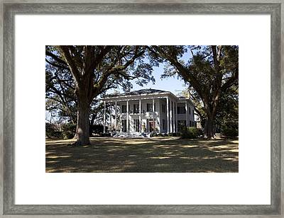 Bragg-mitchell Mansion Is An 1855 Greek Framed Print by Everett
