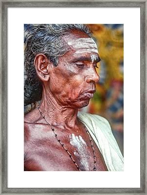 Brahmin Priest Framed Print by Steve Harrington