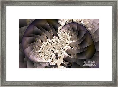 Brain Stem Framed Print