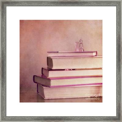 Brain Stuff Framed Print by Priska Wettstein