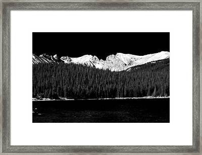 Brainard Lake - Indian Peaks Framed Print by James BO  Insogna