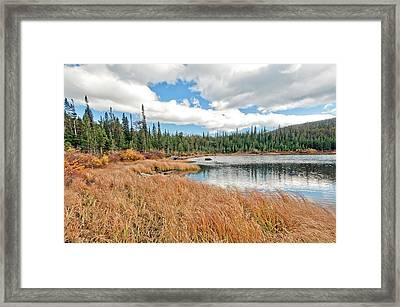 Brainard Lake Colorado Framed Print by James Steele