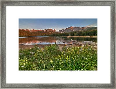 Brainard Lake Framed Print