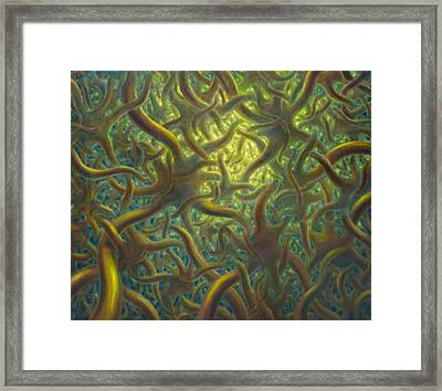 Brainspace Framed Print by De Es Schwertberger