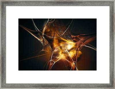 Brainstorm Framed Print by Scott Norris