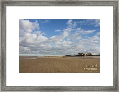 Brancaster Beach Framed Print