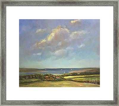 Brancaster Staithes, Norfolk Framed Print