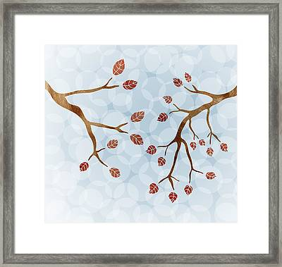 Branches Framed Print by Frank Tschakert
