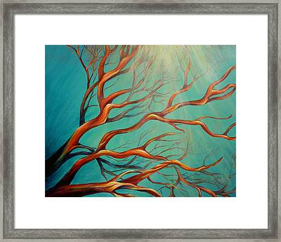 Framed Print featuring the painting Branching Out by Dina Dargo