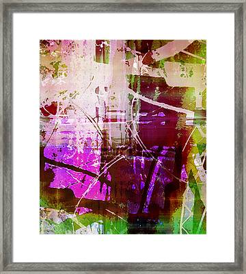 Branching Out Framed Print by Shawna Rowe