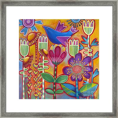 Framed Print featuring the painting Brand New Day by Carla Bank
