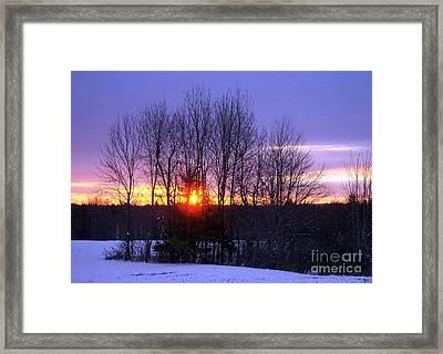 Brand New Day Framed Print