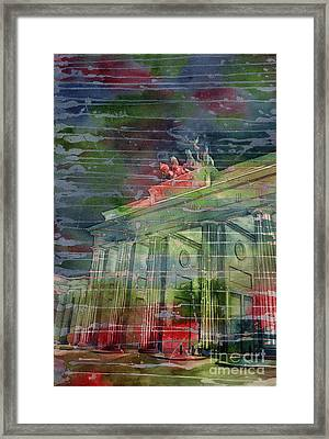 Brandenburg Brilliance Framed Print