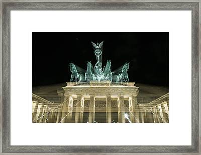 Brandenburg Zoom Framed Print by Nathan Wright
