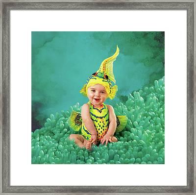 Brando As A Gobi Fish Framed Print