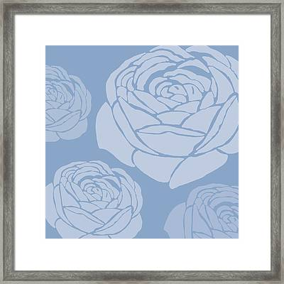 Brandon Rose Framed Print